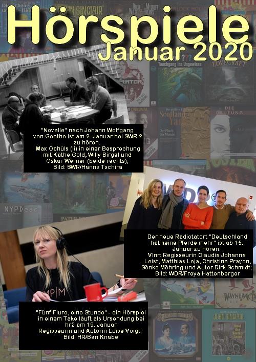 Cover Hörspielheft 01/2020