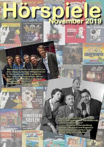 Cover Hörspielheft 11/2019